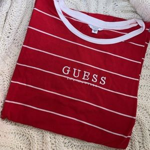 GUESS Los Angeles Stripped T-shirt
